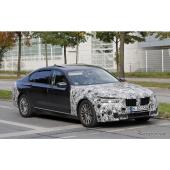 BMW 7シリーズ 改良新型 スクープ写真