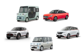東京モーターショーに出展されるダイハツのコンセプトカー。