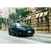トヨタ カローラアクシオ ハイブリッドG W×B(ブラッキッシュアゲハガラスフレーク)