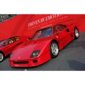 両国国技館に展示された「フェラーリF40」。