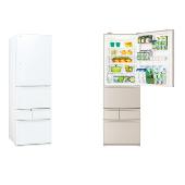 東芝、野菜室まんなかレイアウトで静電式タッチオープン対応5ドア冷蔵など
