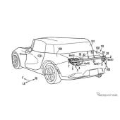 マツダ、格納式リアスポイラーの特許申請…新型スポーツカー用か