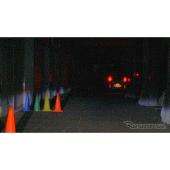カメラ映像の比較(カラーナイトビジョンカメラ)