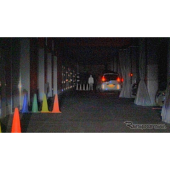 暗所での比較(カラーナイトビジョンカメラ)