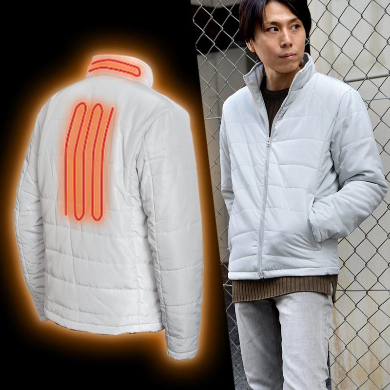 「電熱ヒーターライトジャケット」