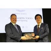 英アストンマーティン・ラゴンダ・リミテッドのアンディ・パーマー社長兼CEOと、日本でのアストン...