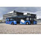 ZFのCeTraxを搭載した都市交通バスのテスト車両