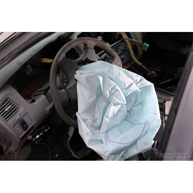 タカタのエアバッグ(車はホンダ・アコード) (c) Getty Images