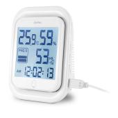 ドリテック、PM2.5の数値も測定できる温湿度計「エルモニ」