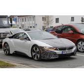 BMW i8 S スクープ写真