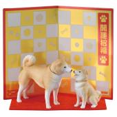 2018年の干支は「戌」、なでたくなるポージングの柴犬フィギュア