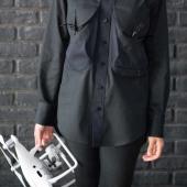 """""""ドローンフライトのためのシャツ""""24,840円で発売、JUN OKAMOTOとコラボ"""