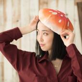 「ベニテングダケ帽子」