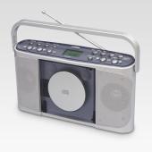 き/遅聴きCDラジオ Manavy(マナヴィ) CDR-440SC