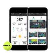 ハイライトムービーを作成できる、スイング解析モーションセンサー「Zepp テニス 2」