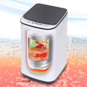80度の熱水でイヤなニオイをカット、小型熱水洗濯機「ニオイウォッシュ」