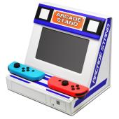 「折りたたみアーケードスタンド(Switch用)」※イメージ