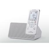 ソニー、ラジオ録音対応でスピーカークレードル付きのポータブルレコーダー