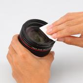 ハクバ、カメラやレンズを清掃できる100枚綴じのクリーニングペーパー