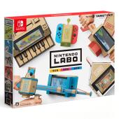 任天堂、Nintendo Switchを使って遊ぶ段ボール工作キット「Nintendo Labo」