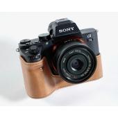 ソニー「α7 II」シリーズ専用、6色展開のイタリアンレザー製カメラケース