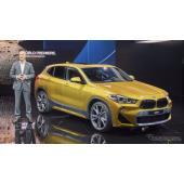 BMW X2、最新コネクト搭載…デトロイトモーターショー2018で発表