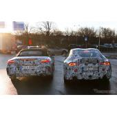 トヨタ スープラとBMW Z4 新型2台奇跡のツーショット