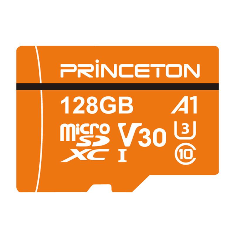 プリンストン、A1規格対応のmicroSDXC/SDHCメモリーカード 画像1