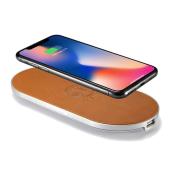 ENETREE、イタリア製本革を採用したiPhoneX高速ワイヤレス充電器