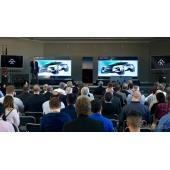 テスラのライバル ファラデー、新型EVはSUVに…ティザースケッチ