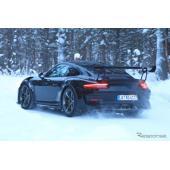 911シリーズ最後の自然吸気!? ポルシェ 911GT3 RS 新型、車名変更の可能性も