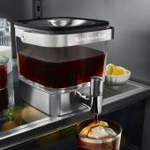 キッチンエイド、冷蔵庫から直接注げる「コールドブリューコーヒーメーカー」