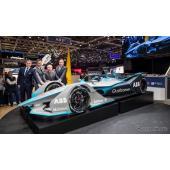 フォーミュラEの2018/2019年シーズン向けレーシングカー(ジュネーブモーターショー2018)