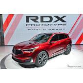 アキュラ RDX 新型のプロトタイプ(デトロイトモーターショー2018)