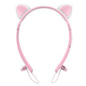 うさぎの耳をイメージ、LEDライト付きBluetoothイヤホン「Tronsmart Bunny」
