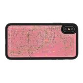 電子技販、東京回路線図デザインのiPhoneケースに新色「ピンク」追加