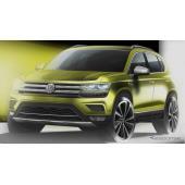 VWの新型SUVはグローバルコンパクトモデルになる…ティザースケッチ