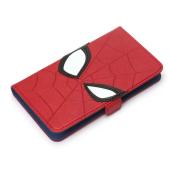 「スパイダーマン」「デットプール」フェイスデザインのマルチ手帳型カバー