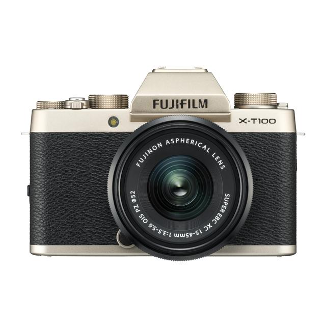 富士フイルム エントリーミラーレスカメラ「X-T100」