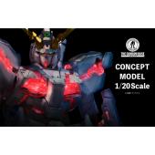 「CONCEPT MODEL 1/20 Scale」イメージ