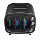 レトロテレビ風のBluetoothスピーカー「Tivoo」、ピクセルアートなど表示可能