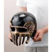 「北斗の拳」より、ジャギ様の「ヘルメット」がソフビ実物大で製品化