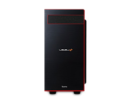 LEVEL-M037-i7-RNR-FB [Windows 10 Home搭載] Core i7 8700/8GBメモリ/240GB SSD+1TB HDD/GTX 1060