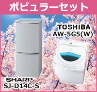 新生活応援 ポピュラーセット(冷蔵庫・洗濯機)
