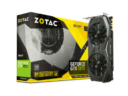 ZOTAC(ゾタック) GF-GTX1070-E8GB/OC/SHORT [PCIExp 8GB] 製品画像