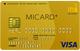 MICARD GOLD�i�G���A�C�J�[�h�S�[���h�j/�O�z M CARD GOLD/�ɐ��O�A�C�J�[�h �S�[���h
