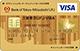 スーパーICカード「三菱東京UFJ-VISA ゴールド」<コンビタイプ>