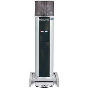 お掃除ロボット一体型ウォーターサーバー Acro(床置) / ブラック