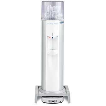 お掃除ロボット一体型ウォーターサーバー Acro(床置) / ホワイト
