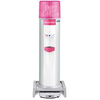 お掃除ロボット一体型ウォーターサーバー Acro(床置) / ピンク